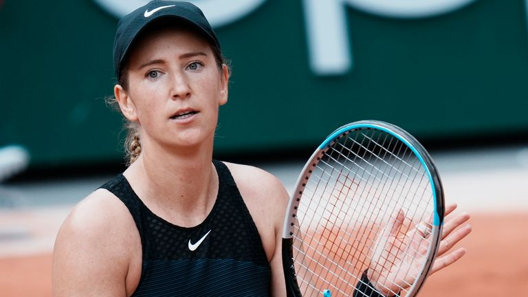 Azarenka was beaten in three sets by Anastasia Pavlyuchenkova in the last 16 at Roland Garros