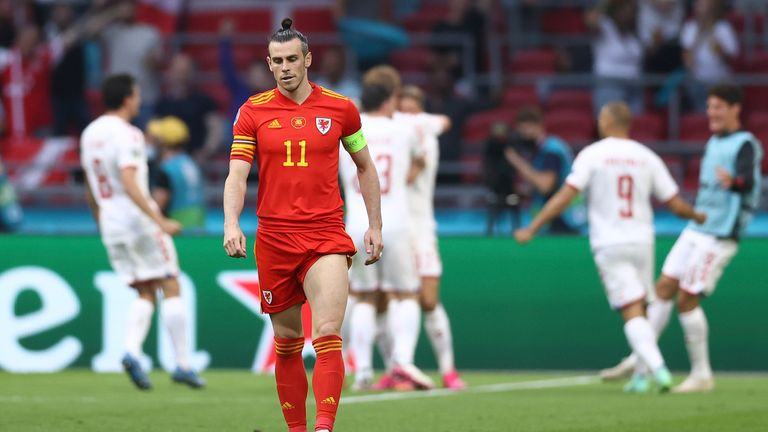 Wales' run came to a juddering halt against Denmark