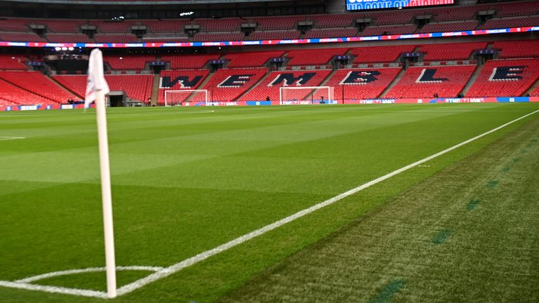 Wembley Stadium will host both the Euro 2020 semi-finals and the final