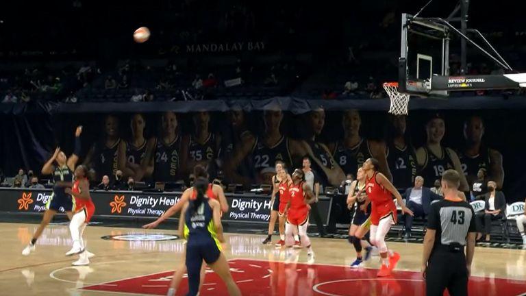 Plays of the night WNBA