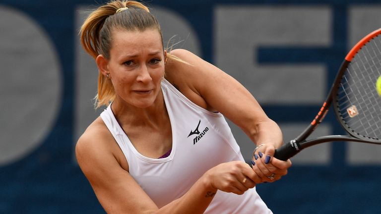 Russian player Yana Sizikova was arrested at the French Open on Friday but has since been released