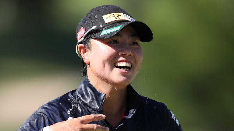 Saso birdied the third extra hole to become the first golfer from the Philippines to win a major