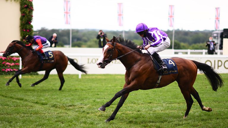Point Lonsdale wins a thrilling Chesham Stakes