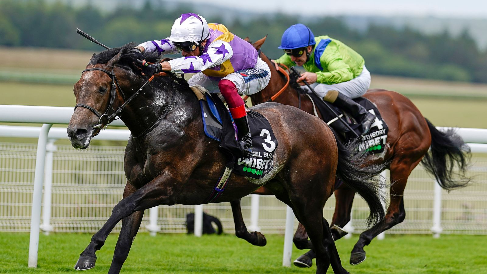 Glorious Goodwood: Vintage Stakes glory for Frankie Dettori and Angel Bleu as Ralph Beckett enjoys quickfire double