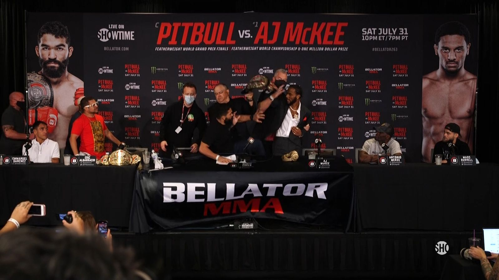Tempers flare during Bellator press conference | MMA News ...