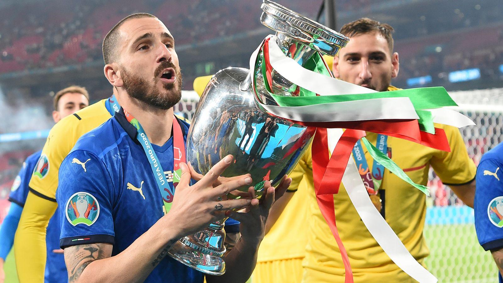Leonardo Bonucci: 'Football's coming home' chant motivated ...
