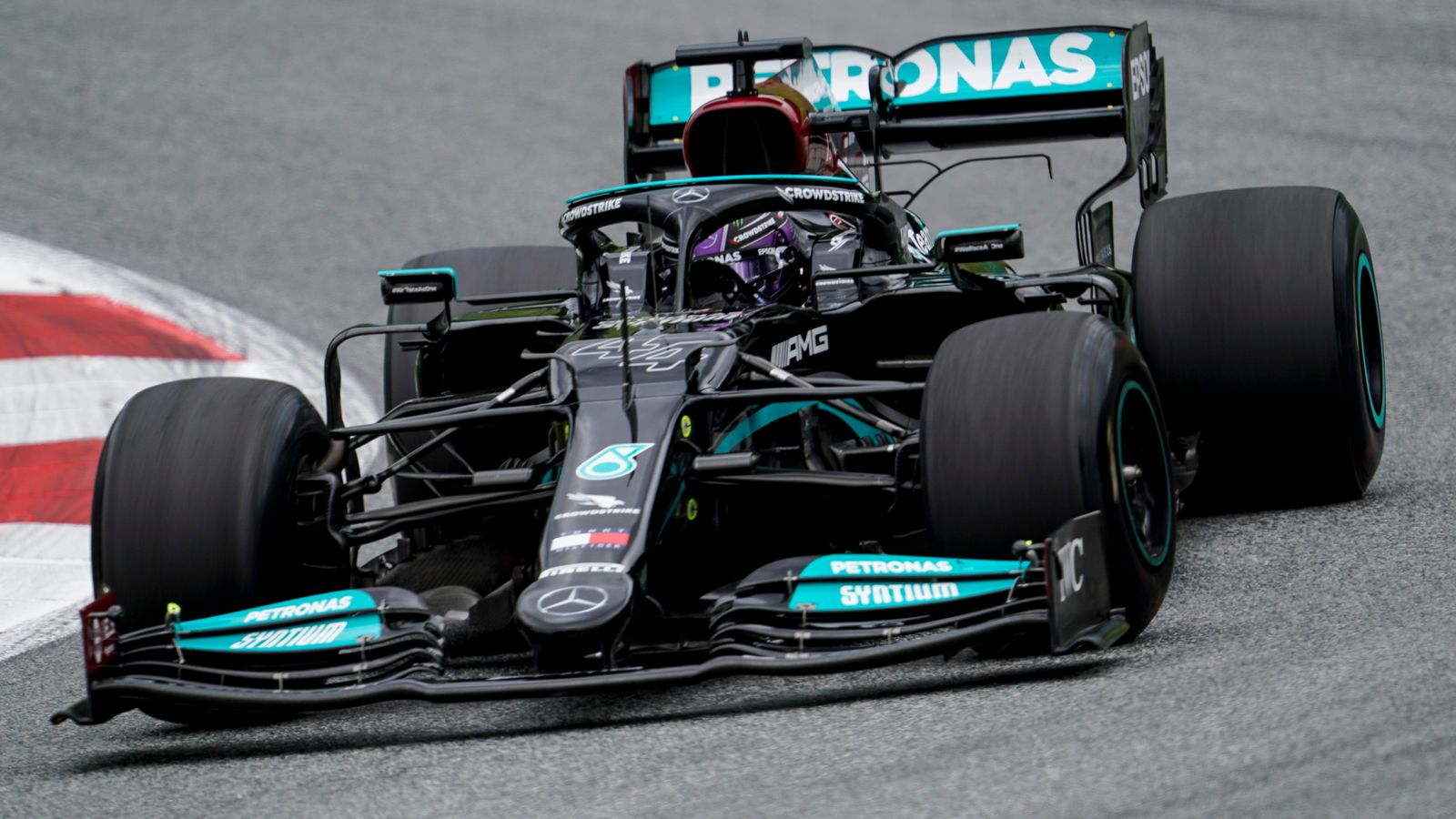 Austrian GP: Lewis Hamilton fastest in Practice Two as Mercedes get back ahead of Max Verstappen