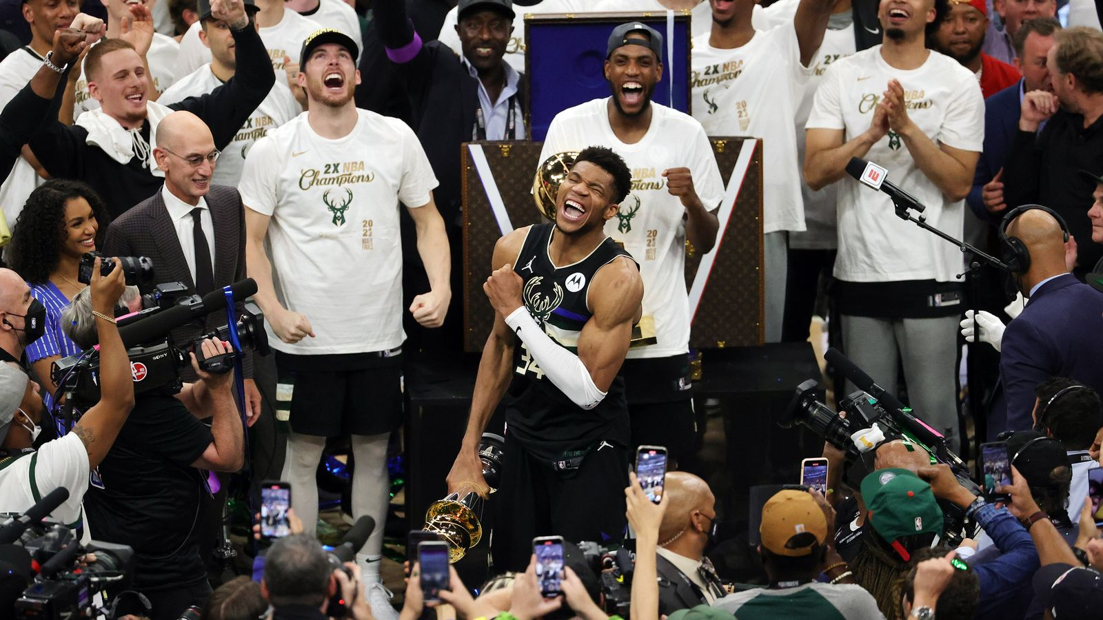 NBA Finals: Giannis Antetokounmpo seals Milwaukee Bucks ...