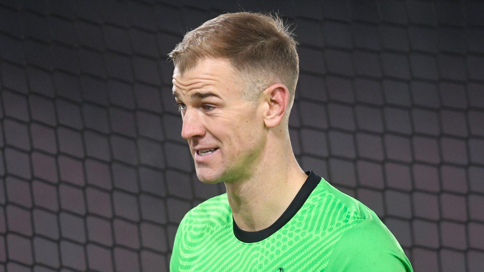 Joe Hart: Celtic make approach to sign Tottenham's former England international goalkeeper