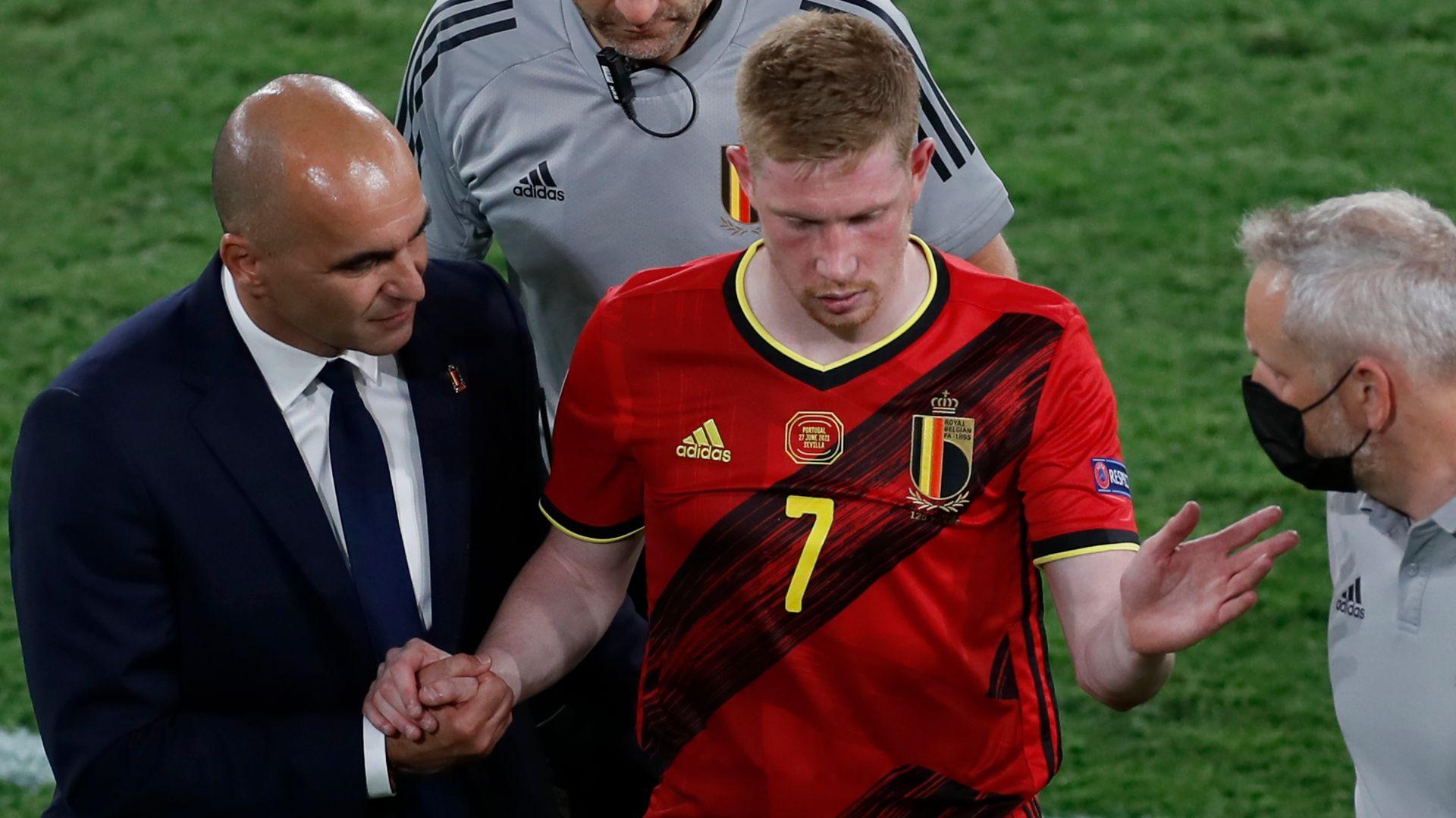 Martinez: De Bruyne and Hazard last-minute decisions