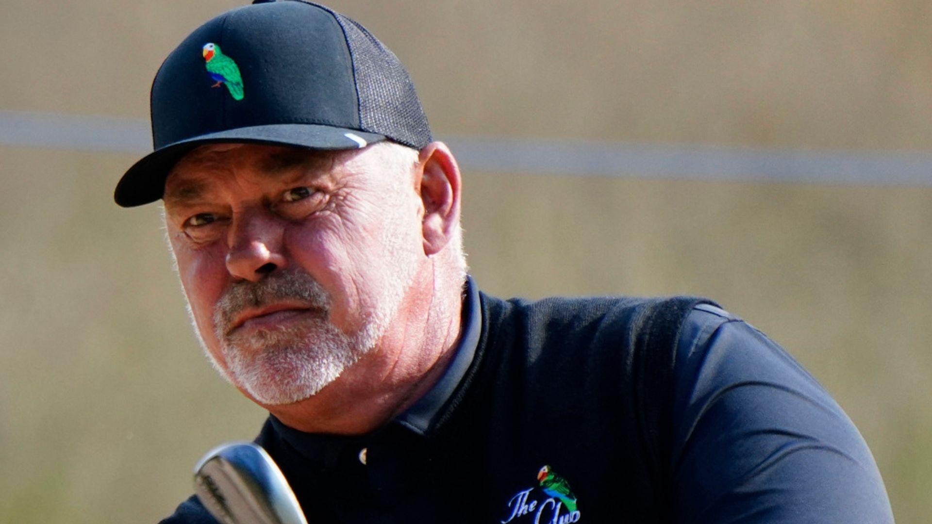 Clarke leads Langer at Senior Open - sky sports