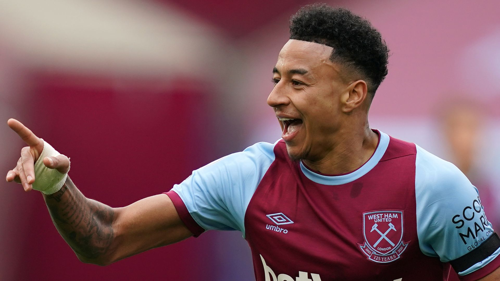 West Ham believe just '10 per cent' chance of signing Lingard