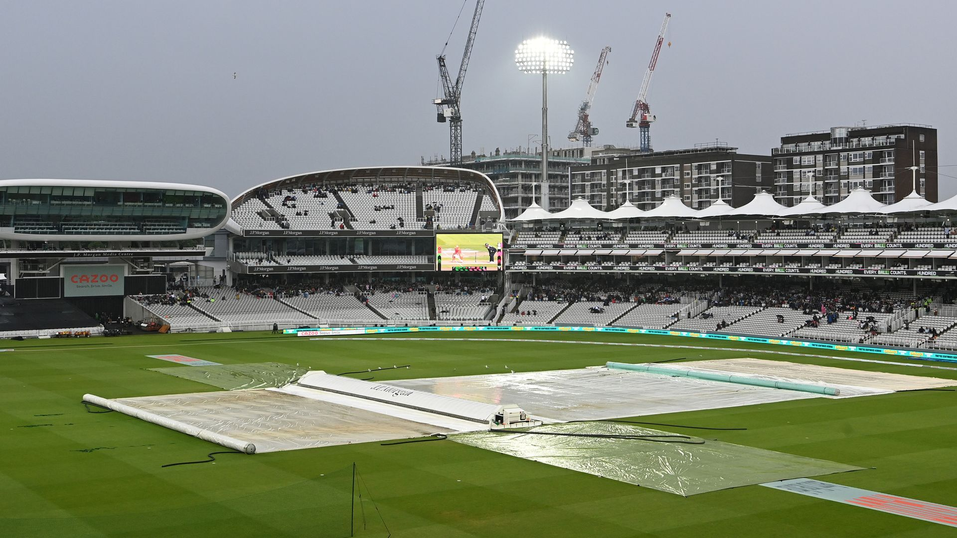Spirit vs Invincibles clash in The Hundred rained off