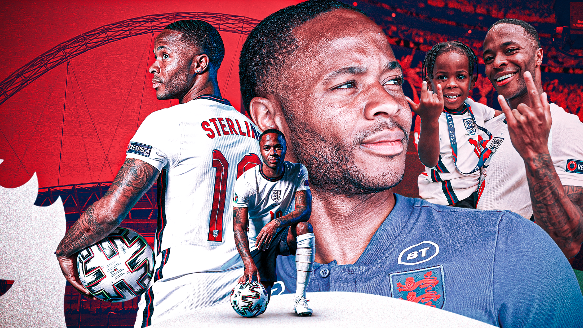 Raheem Sterling has been England's Euro 2020 player of the tournament and  now he can become a national hero | Football News | Sky Sports