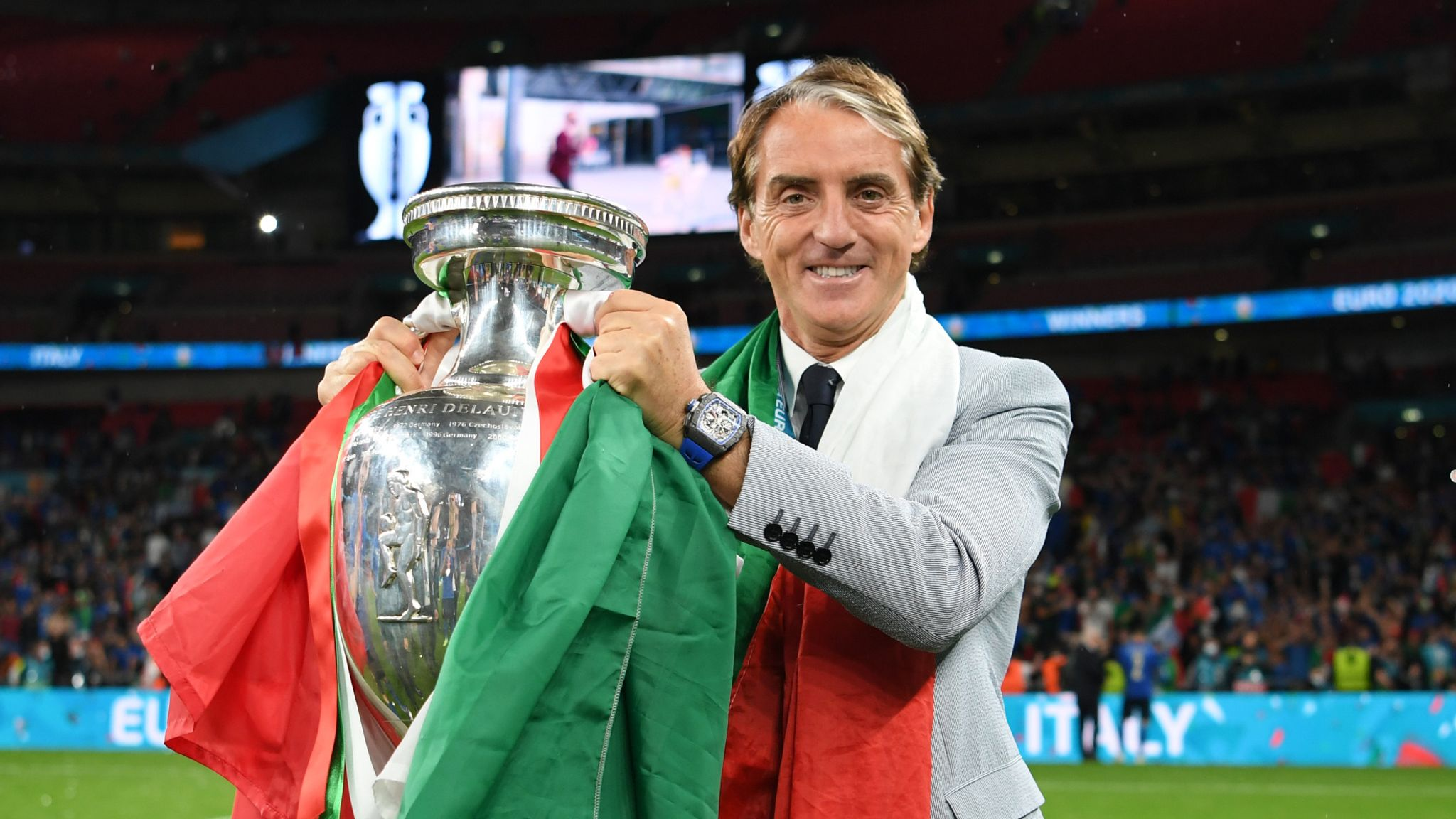 Italy win Euro 2020: How Roberto Mancini sparked renaissance by blending  Italian coaching ideas | Football News | Sky Sports