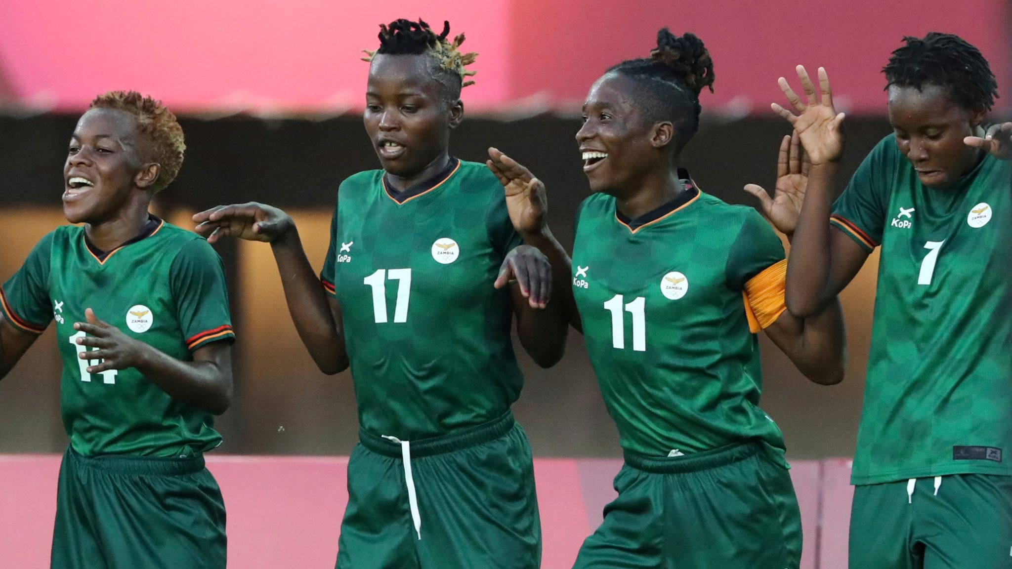 Zambia's Barbra Banda nets another hat-trick in Tokyo 2020 thriller against  China - Women's Olympic football round-up | Football News | Sky Sports