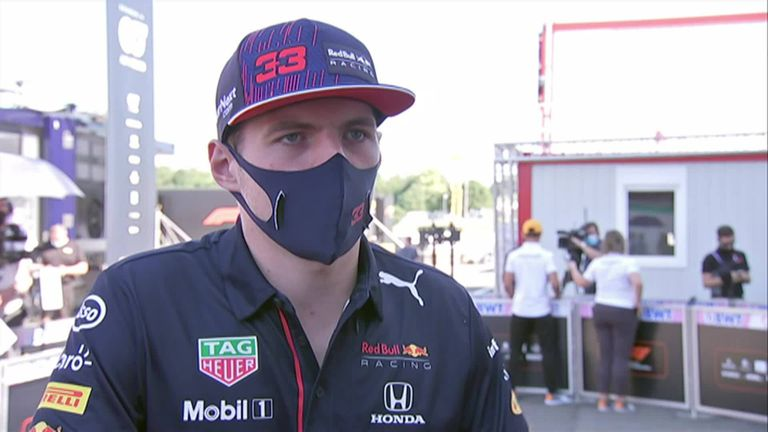 Max Verstappen does not think Lewis Hamilton wanted to make him crash at Silverstone but feels the penalty received was not severe enough in regard to the loss of points in the championship