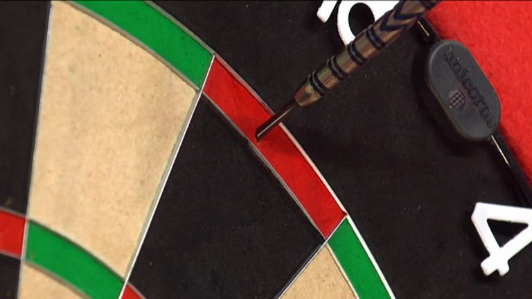Price hit a 105 checkout in the opening leg of his quarter-final at the World Matchplay