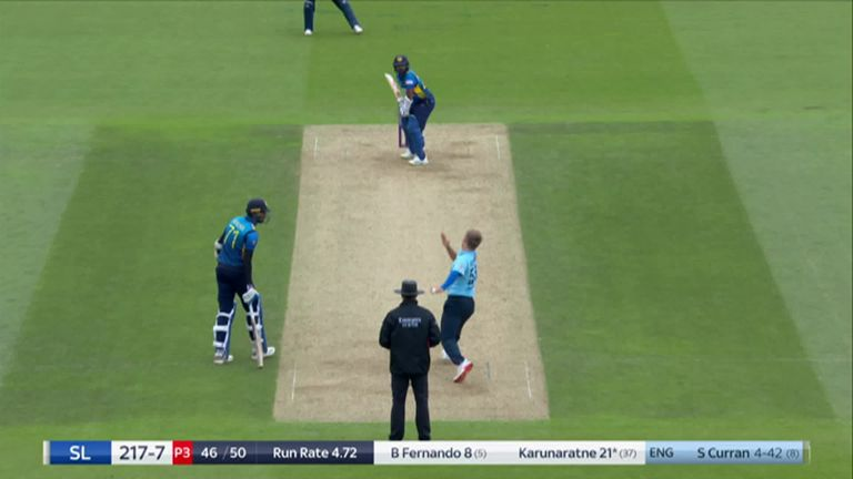 Sam Curran picked up his maiden ODI five-for on his home ground earlier in the week