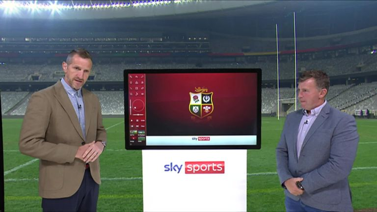 Will Greenwood and Nigel Owens discuss the officials' performance and analyse the decisions that were made in the second Test