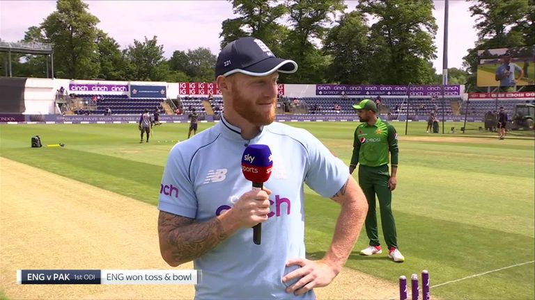 England captain Ben Stokes struggled to remember all the debutants in his team ahead of the first ODI
