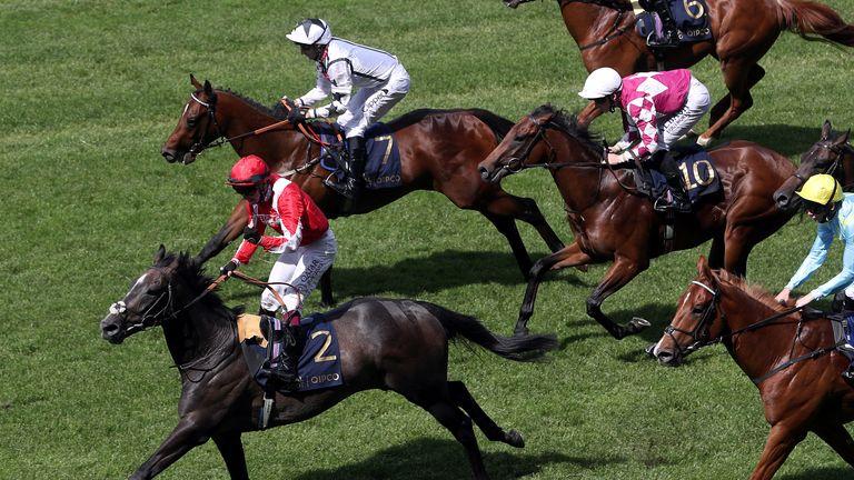 Eldrickjones (7) goes close at Royal Ascot