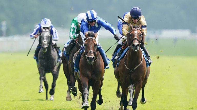 Hukum and Jim Crowley win at York