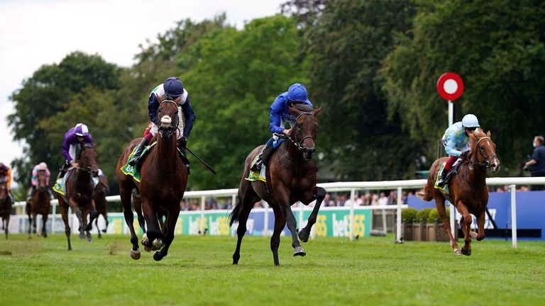 Native Trial wins the Superlative Stakes