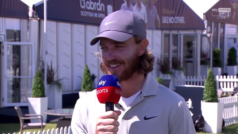 Tommy Fleetwood discusses his opening-round 67 at the Scottish Open and assesses the state of his game ahead of The Open