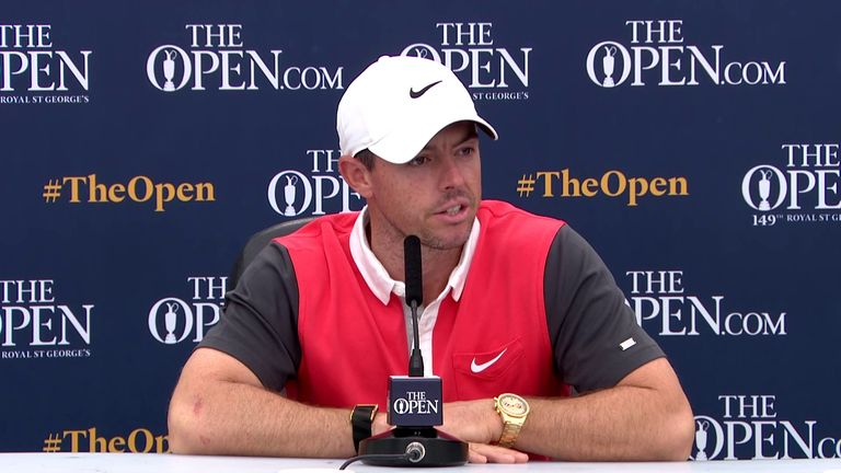 Four-time major winner Rory McIlroy says missing the cut at last week's Scottish Open 'was not a bad one' in preparation for this week's Open Championship at Royal St. George's
