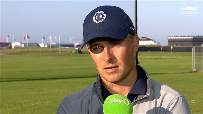 Jordan Spieth was left disappointed by missed opportunities during a second-round 67 at The Open, dropping the three-time major champion three off the lead.