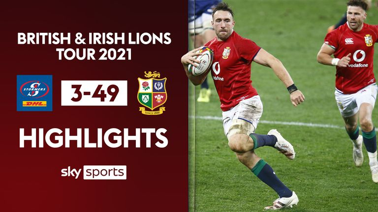 Highlights as the British and Irish Lions faced Stormers in their final warm-up of the South Africa tour