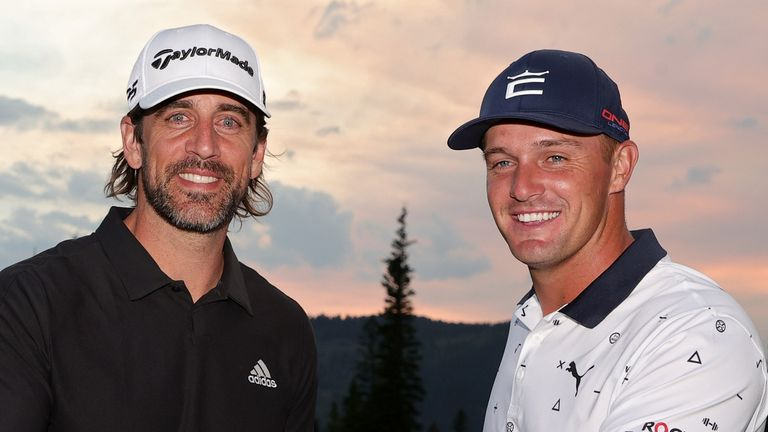 Aaron Rodgers and Bryson DeChambeau claimed a 3&2 victory in The Match