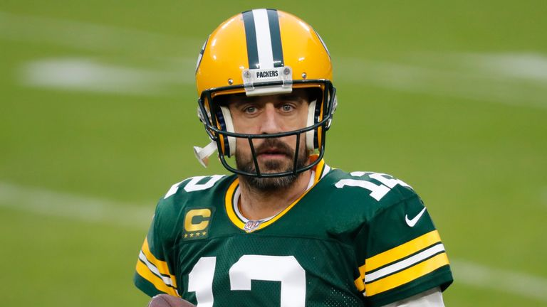 Aaron Rodgers looks set to lead the Packers out again in 2021 (AP)
