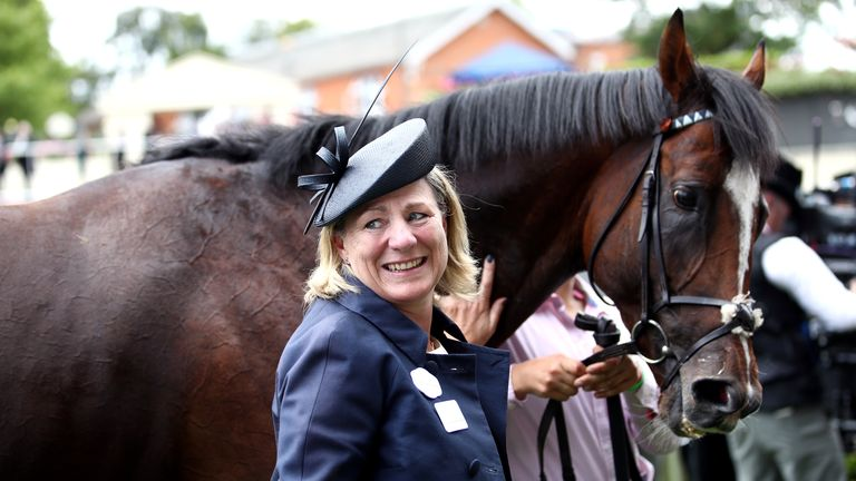 Eve Johnson Houghton could send recent Newmarket winner Accidental Agent to Ascot this weekend