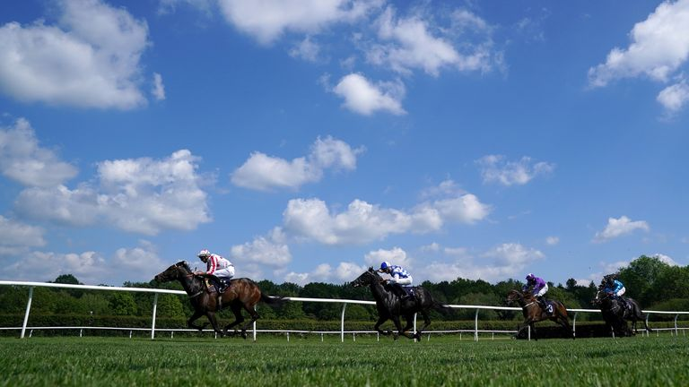 Adaay to Remember on the way to winning at Lingfield last month
