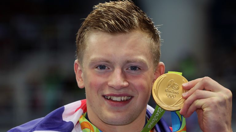 Adam Peaty won the 100m breaststroke at the 2016 Games in Rio
