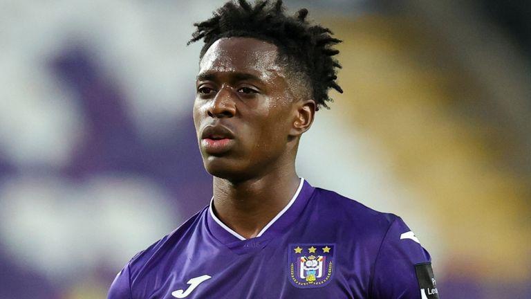 Albert Sambi Lokonga - for use in snap announcing Arsenal signing