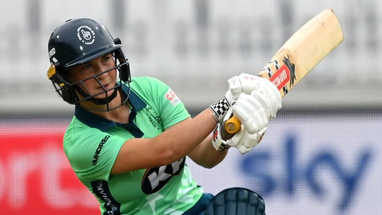 Alice Capsey struck 59 from 41 balls to set up Oval Invincibles' second successive Hundred victory (Getty Images)