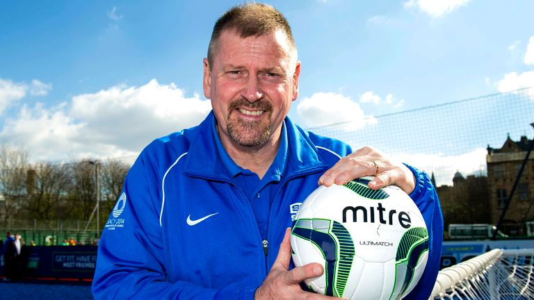 Ally Dawson went on to work with Street Soccer Scotland after his playing career ended