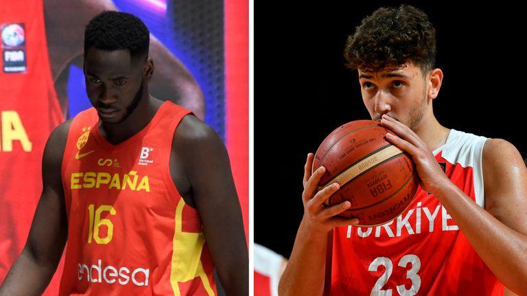 Spain international Usman Garub and Turkey international Alperen Sengun will be part of the NBA Draft this season.