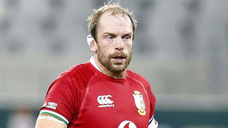 Alun Wyn Jones and co were thoroughly outplayed in the second half