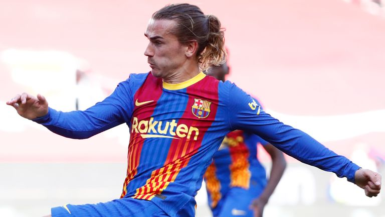 Antoine Griezmann, Barcelona 2020-21