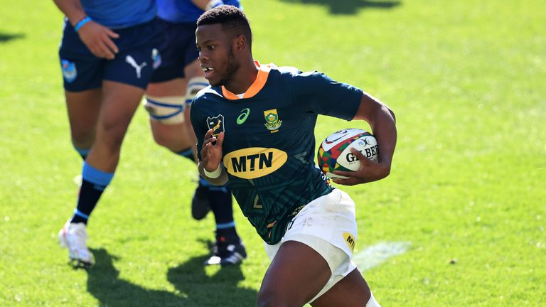 Aphele Fassi scores for South Africa 'A'