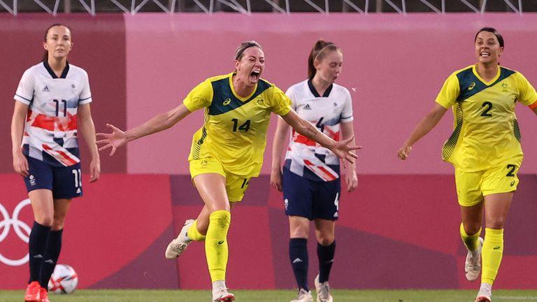 Alanna Kennedy put Australia ahead