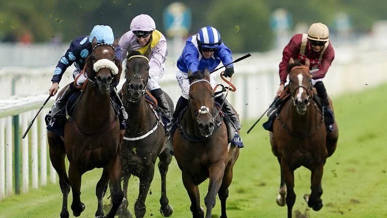 Battaash wins the Nunthorpe Stakes at York last August