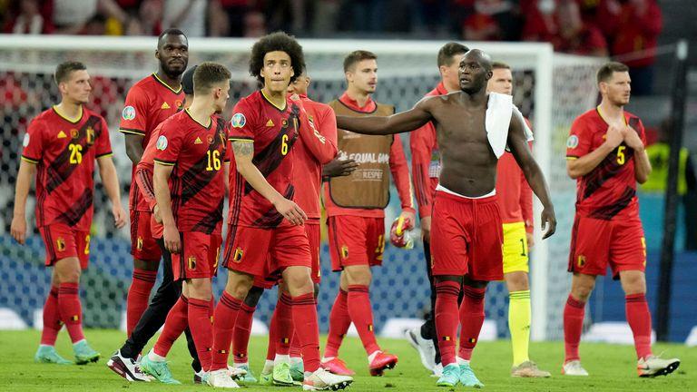 Belgium's Golden Generation fell short in the quarters again