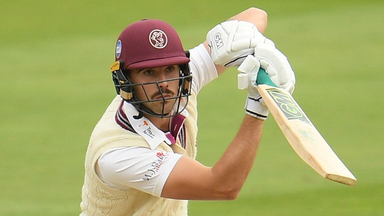 Ben Green's 43 helped Somerset past 400 against Surrey at The Kia Oval