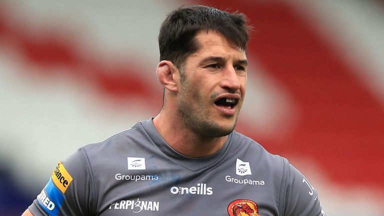 Benjamin Garcia: Catalans Dragons captain out for 'minimum of six weeks' after