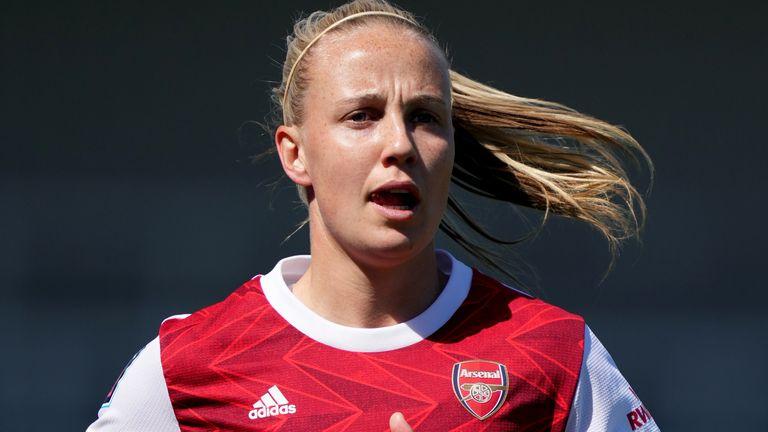 Arsenal forward Beth Mead (PA)